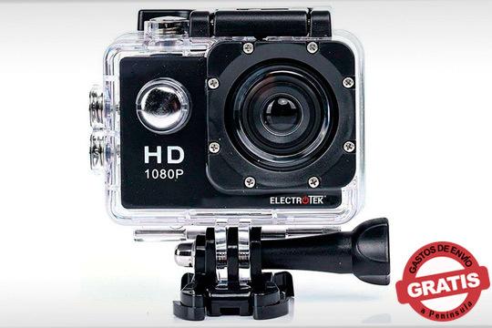 Consigue las mejores imágenes mientras realizas tu deporte favorito gracias a esta cámara deportiva ¡Con calidad HD!