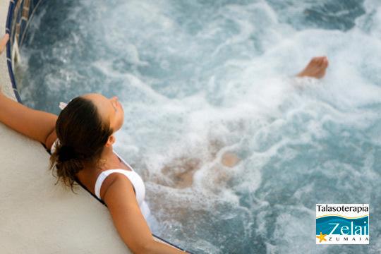 ¡Relajación absoluta en Talasoterapia Zelai! Complétalo con una sesión de masaje relajante