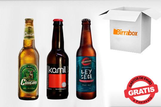 Prueba unas fabulosas cervezas artesanas con Birrabox ¡Incluye las cervezas 'Ley Seca', 'Kamil' y 'Ciucas'!!