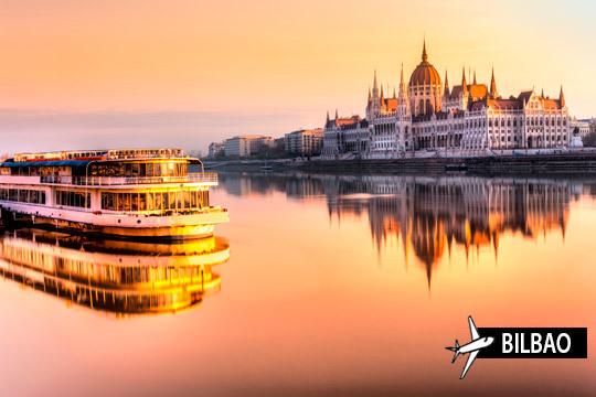 Disfruta de unas vacaciones únicas con un crucero por el Danubio ¡Vuelo de Bilbao y camarote doble en cubierta principal!