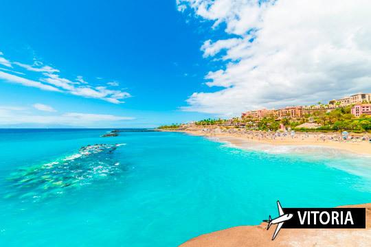 Disfruta y relájate en las playas de Tenerife en septiembre ¡Vuelo desde Vitoria y 7 noches en estudio!