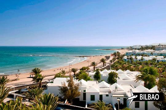 En junio vuela a Lanzarote ¡Salida de avión desde Bilbao + 7 noches en el apartamento Las Gaviotas!