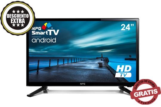 Disfruta de la mejor programación en la comodidad de tu casa con este Televisor LED 24