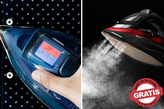 Tu ropa impoluta con estas planchas de vapor ForceTitanium 720 y ForceAnodized 850 ¡Las mejores del mercado!