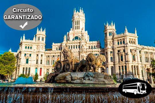 ¡Circuito con salida desde Bilbao, Vitoria, Donosti, Pamplona o Logroño! Recorre lo mejor de Madrid y Toledo en este circuito inigualable