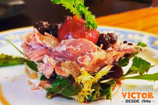 Nuevo menú con carne y pescado en el Rest. Víctor (Plaza Nueva)