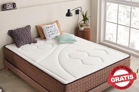 Consigue un descanso de calidad con este colchón con efecto nube ¡Óptima relajación para que te despiertes como nuevo!