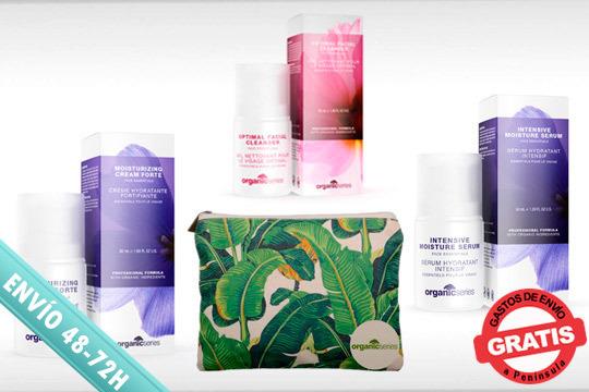 ¡Un regalo ideal! Productos de belleza facial y corporal orgánicos y de excelente calidad y con un práctico neceser para que aciertes seguro