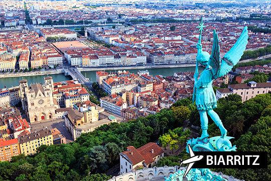 ¡Semana Santa a Lyon con vuelo de Biarritz! Aprovecha esta oferta de 4 noches con desayuno y city tour de 4 horas