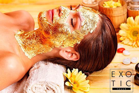 Cuida tu rostro con un tratamiento con oro, caviar y matrixil ¡Incluye un masaje facial shiatsu!