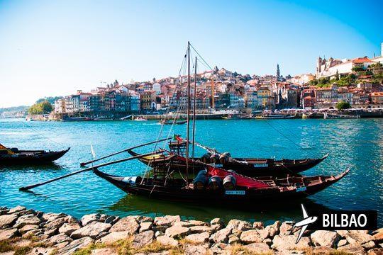 Relájate en oporto este verano con 3 noches de alojamiento en un hotel con desayuno ¡Y vuelo desde Bilbao!