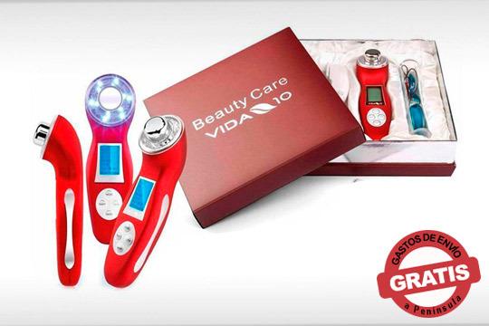 Combina 4 potentes tecnologías para el cuidado de la piel y consigue resultados visibles ¡Adiós grasa y piel de naranja!