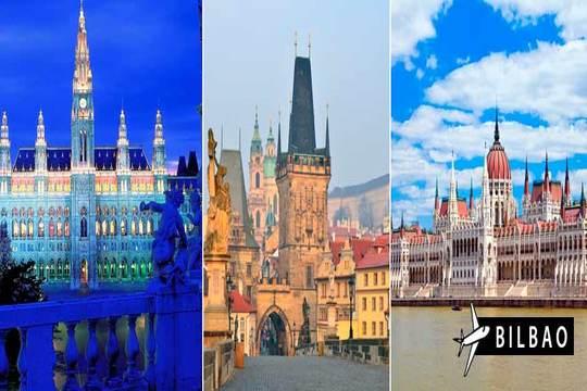 Circuito Budapest, Viena y Praga + vuelo de Bilbao ¡En Semana Santa!
