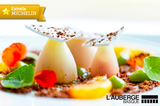 """Descubre el exclusivo menú """"Promenade Basque"""" y elige 5 platos entre la propuestas del prestigioso Chef Cédric Béchade"""