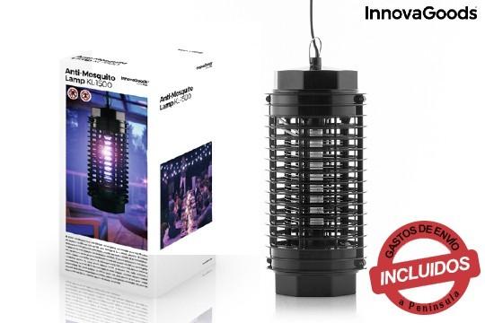 Esta lámpara con rejilla eléctrica te librará de moscas, mosquitos y otros insectos. No contiene sustanciastóxicas ni contaminantes ¡Pídela!