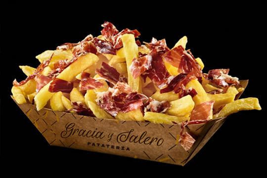 Disfruta de tu menú para 2 en el formato que prefieras y elige tu guarnición favorita porque en Vitoria las patatas fritas nos gustan ¡con Gracia y Salero!