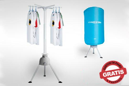 Alarga la vida a tu ropa con la Secamatic Turbo Plus ¡La mejor tecnología para un secado sin fricciones!