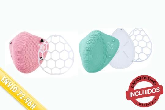 Protege a tus hijos de virus y bacterias con la mascarilla de silicona infantil. La compra incluye 10 filtros intercambiables que garantizan 95% de eficiencia. ¡Aproyecha la oferta!