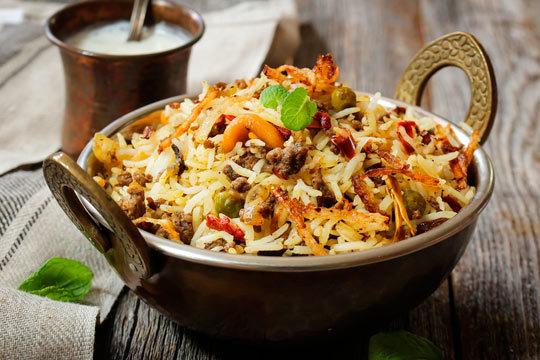 Menú especial en Bombay ¡Gastronomía internacional hindú!