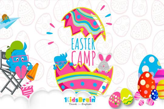 ¡Tus hijos disfrutarán de un divertido día repleto de actividades de Pascua en inglés! Taller de pintar huevos y juego de buscar los huevos de chocolate