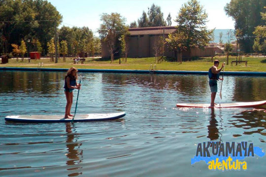 ¡Un día divertido con Akuamaya Aventura! Actividad a elegir entre paddle surf, barca de remo, hidropedales o big paddle
