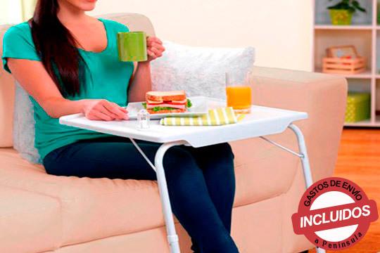 Que no te falte la mesa plegable multiusos en tu casa ¡Para múltiples usos, muy estable y de acero resistente!