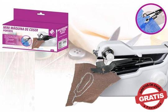 Arregla y customiza tu ropa con esta máquina de coser portátil ¡Ligera y fácil de usar!