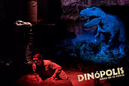 Descubre el fantástico mundo de los dinosaurios en Dinópolis, el parque temático de Teruel ¡Elige entre entrada de niño o adulto!