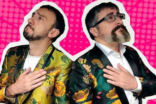 No pares de reír con el nuevo espectáculo de Gorka Aguinagalde e Iñigo Salinero ¡El día 21 de diciembre en la sala Kubik!