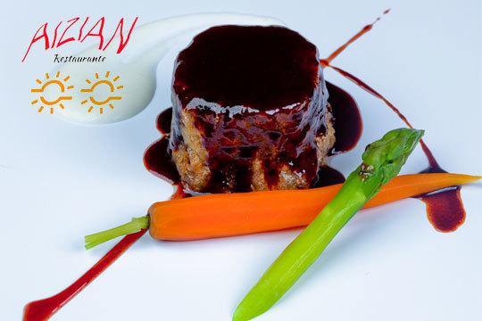 Fusión de sabores en Aizian ¡Cocina de autor! (Abandoibarra)