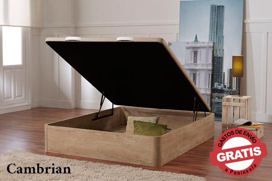 Canapé de madera con 4 patas de Haya que ofrecen un estilo sofisticado a tu dormitorio ¡Con envío y montaje incluido!