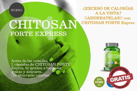 ¡Adquiere el suplemento alimenticio Chitosan Forte a un increíble precio para bajar de peso durante las fiestas!