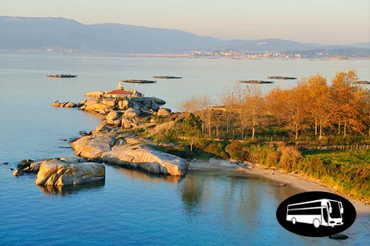 Rías Bajas ¡la zona costera de Galicia, por excelencia! Circuito con salida desde Vitoria en San Prudencio y estancia de 3 noches en hotel