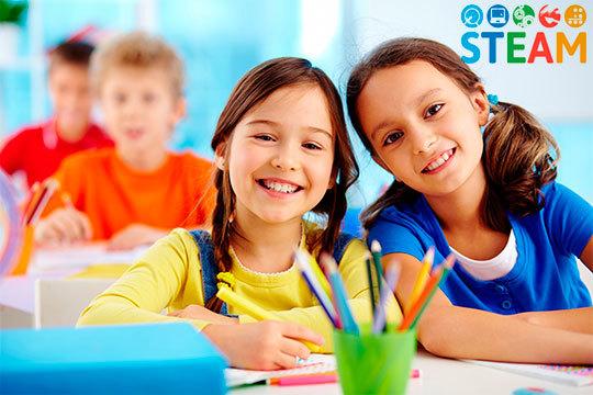 Aprende el método 'STEAM' Science, Technology, Engineering Art y Math en Kidsbrain ¡Desarrolla el pensamiento y las habilidades cognitivas en inglés!