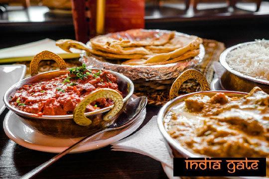 ¡El sabor tradicional de la India! Con un menú de exquisiteces