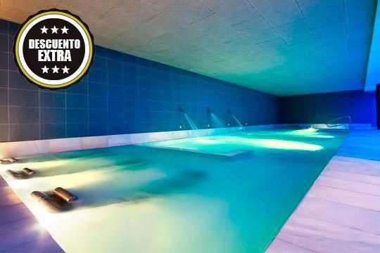 ¡Sorprende con una sesión relajante en el Balneario Areatza! Noche + desayuno + comida o cena + circuito termal y opción a envoltura + masaje