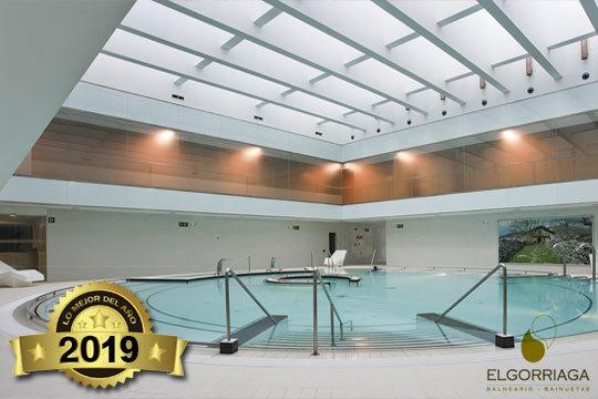 Relájate en las instalaciones del Balneario de Elgorriaga ¡Y además puedes añadir una comida o cena!