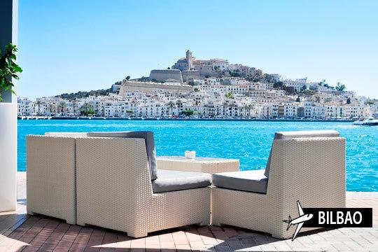 En octubre, disfruta de la paradisíaca isla de Ibiza ¡Vuelo desde Bilbao y 7 noches de alojamiento en estudio!