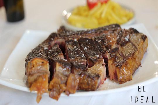 Exquisito menú en El Ideal ¡Txuletón o Bacalao y mucho más!