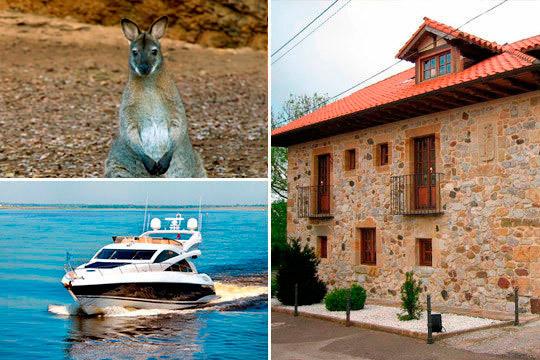 ¡Disfruta de días interminable en Cantabria! Estancia de 1 noche con desayuno, comida o cena, paseo en barco y opción al Parque Natural de Cabárceno