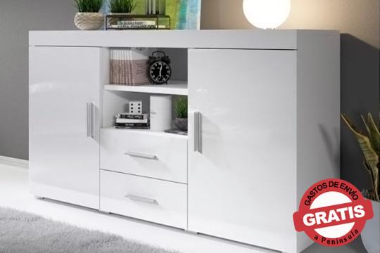 Presume de elegancia y modernidad en tu salón o dormitorio con este aparador en 4 modelos diferentes ¡Incluye gastos de envío!