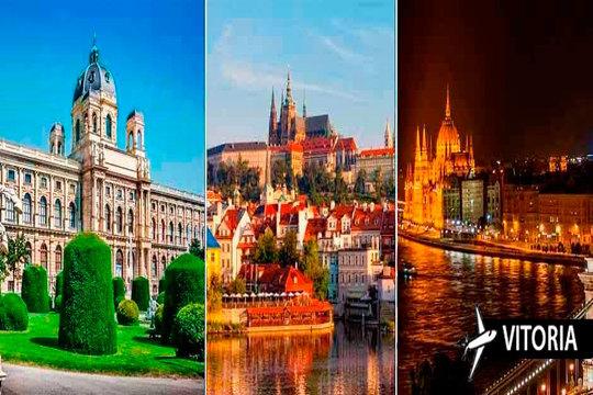 Praga, Viena y Budapest: 7 noches en circuito ¡Desde Vitoria!