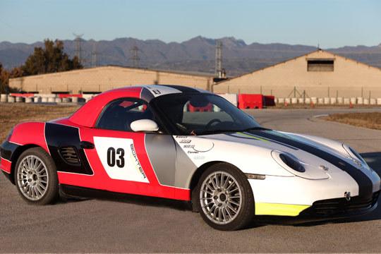Curso de Drifting: Conducción extrema en un Porsche Boxter Cup ¡Vive una experiencia única!