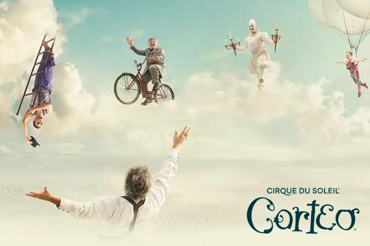 ¡Vive la magia de Corteo, el nuevo espectáculo de Cirque du Soleil! Un espectáculo lleno de magia que llega a Vitoria los días 29 y 30 de enero