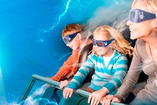 Atracciones cautivadoras, sensaciones extremas, espectáculos en vivo y mucho más en Futuroscope ¡El mejor plan para ir en familia!