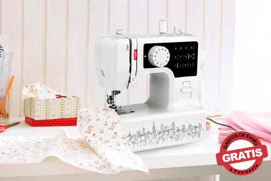 Cose, decora y arregla tus prendas de ropa con esta máquina de coser eléctrica ¡Con 12 modalidades de puntadas!