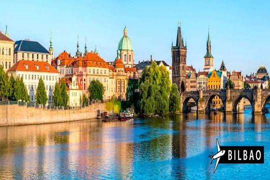¡El 6 de junio a Praga! vuelo de Bilbao + 3 noches con desayunos