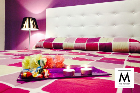 ¡Haz un alto en el camino en el hotel Marrodán! Estancia de 1 o 2 noches con opción a spa, alquier de bicicleta, copa de vino y visita a bodega