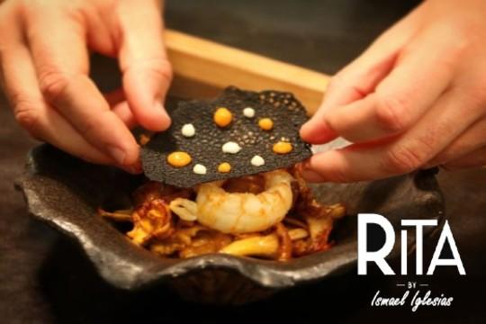 Exquisito menú de Ismael Iglesias en Restaurante Rita