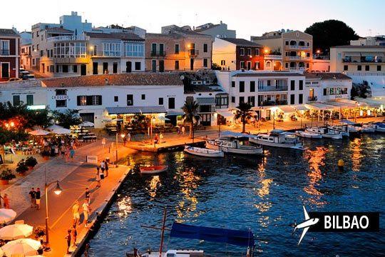 ¡Escápate a Menorca con alojamiento en media pensión! Estancia de 7 días con vuelo directo desde Bilbao